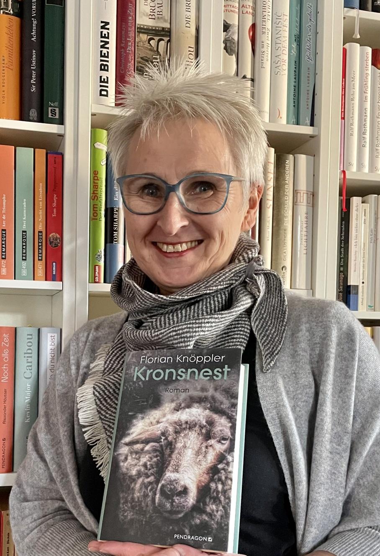 Buchhändlerin Claudia Werning